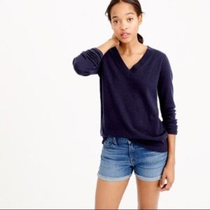 J. CREW FACTORY | Navy Cotton Pullover Sweater XS